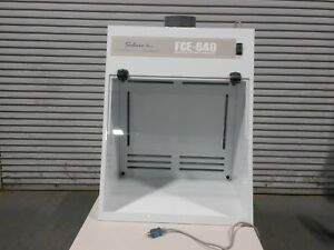 Salare Inc Fume Hood Ducted Total Exhaust With Light Hinged Sash Used