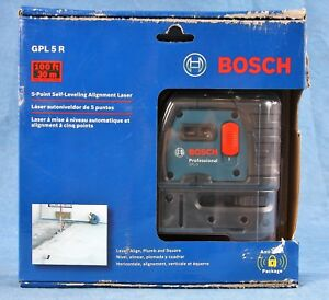 Bosch 5 point Self leveling Alignment Laser Gpl 5 R