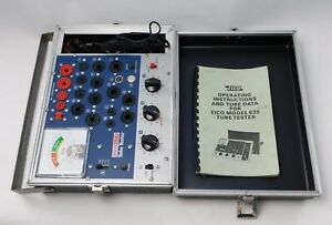 Eico 635 Tube Tester With Instructions