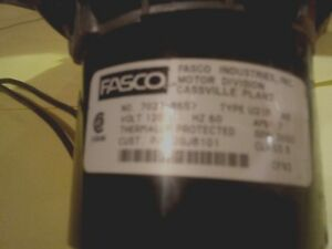 Fasco 7021 8657 Draft Inducer Blower Motor Assembly 20j8101