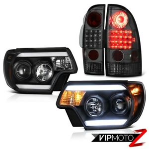 2012 2015 Toyota Tacoma Prerunner Projector Headlights Taillamps Smd Brightest