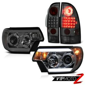 12 15 Toyota Tacoma X Runner Smokey Headlights Parking Brake Lights Brightest