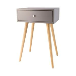 Astro Accent Table In Cool Grey