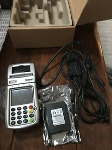 First Data Fd400gt Wireless Credit Card Reader Point Of Sale Device
