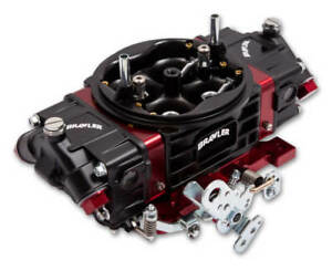 Holley Quick Fuel 850 Cfm Carburetor Red Black Double Pumper Br 67332 Custom