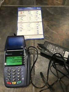 Verifone Vx610 Wireless With Battery And Power Supply Verizon Network