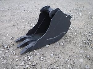 Bobcat Mini Excavator Attachment 12 Heavy Duty Tooth Bucket Ship 149