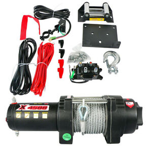 4500lb Winch Set For Universal Products