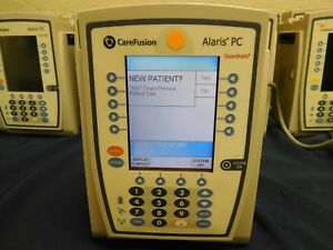 Lot Of 18 Carefusion Alaris 8015 Pc Infusion Pump Controller Unit Iv Pole Clamp