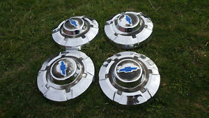 4 Heavy 3 4 Or Ton Chevrolet Truck Dog Dish 12 Hubcap Caps Blazer 1969 1972