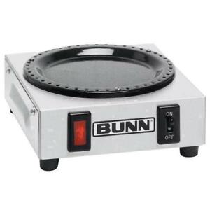 Bunn 06450 0004 Wx1 Single Burner Decanter Coffee Warmer 120v