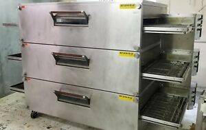 Bofi 32 Conveyor Pizza Oven 3 Stack Natural Gas Xlt 3270 ts lc