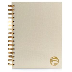 Undated Academic Planner Daily Weekly Monthly Hardcover A5 Agenda Calendar