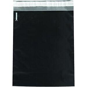 Box Usa Bcpm1419bk Poly Mailers 14 1 2 X 19 Black Pack Of 100