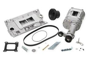 Weiand Supercharger System Roots 142 Series Satin Chevy 5 0 5 7l Kit