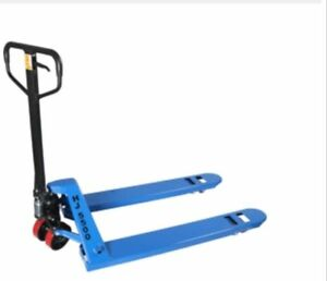2 Pallet Jacks Hand Trucks 5500lb 27 X 48 New 1 year Warranty Ships Free
