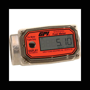 Gpi Digital Turbine Fuel Meter Model 01a31gm