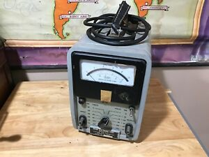 Antique Orion Electronic Corp V 100m Tester Tube Radio Vacuum Tube Voltmeter