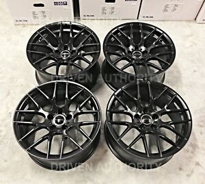 19 Avant Garde M359 Wheel Set Bmw F32 428i 435i 440i M Competition Black Rims