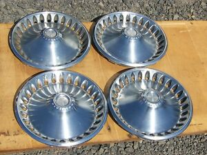 1970 Plymouth 14 Hubcaps 1971 1972 Barracuda Gtx Duster 1
