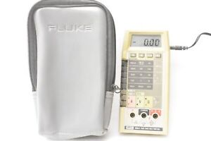 Fluke 8060a True Rms Multimeter With Padded Soft Carrying Case Excellent Cond