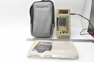 Fluke 8060a True Rms Multimeter With Padded Soft Carrying Case And Fluke A81 115