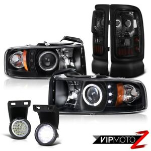 1994 2001 Dodge Ram 1500 2500 3500 V6 V8 Head Lamps Tail Lights Led Driving Fog