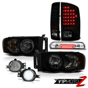 02 05 Dodge Ram 2500 3500 St Headlamps Foglights Roof Cab Lamp Tail Lights Drl