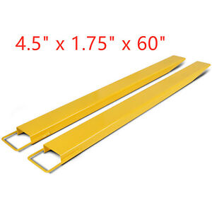 60 X 4 5 Pallet Fork Extensions For Forklifts Lift Truck New