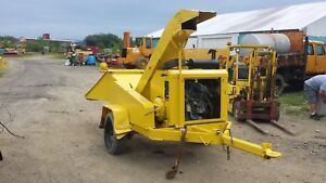 Chipmore Wc12 Drum Wood Chipper Deutz Turbo Diesel Engine 1031 Hours