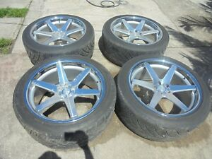 22 Concept One 22x10 5 Wheels Rims With Nitto Tires