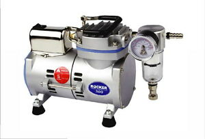 1 8hp Oil Less Piston Vacuum Pump Air Compressor 95w 110v Or 220v