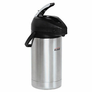 2 Liter Lever Action Airpot Stainless Steel black Coffee Urn