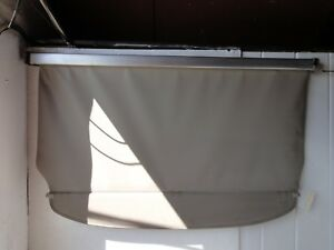 2005 2009 Toyota Prius Rear Trunk Cargo Cover Retractable Shade Ivory Oem