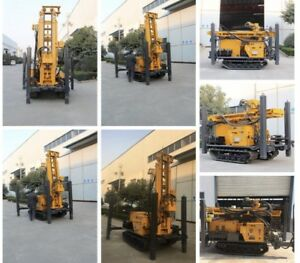 All Terrain Water Well Drilling Rig W Air Compressor Mud Pump