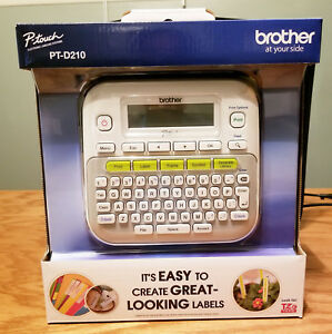 Brother P touch Pt d210 Label Maker New Sealed