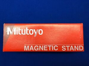 Mitutoyo Magnetic Base Dial Indicator Stand Model 7010sn Brand New