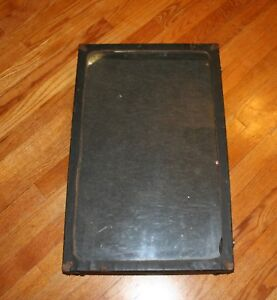 Vtg Door to door Salesman Portable Display Case Portfolio Advertising