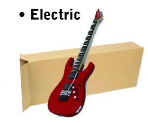 18x6x45 Electric Guitar Shipping Packing Boxes Moving Keyboard Heavy Duty