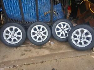 15 Volvo 40 Series Wheels Rims Oem Factory 2000 2004 70236 With Tires