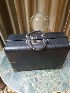 Vintage 1900s Traveling Leather Doctors Bag Haunted Apothecary