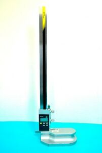 Mitutoyo Absolute Digimatic Height Gage 570 246 W Spc Data Output 0 18 450mm