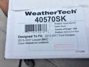 New Weather Tech Cargo Liner Ford 2013 2016 Escape Lincoln Mkc 40570sk