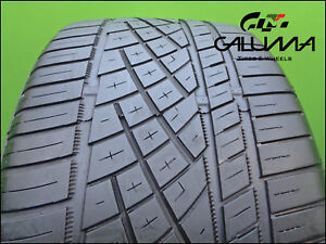 1 One Tire Continental 265 35 20 Zr Extreme Contact Dws 06 Ford Mustang 48411