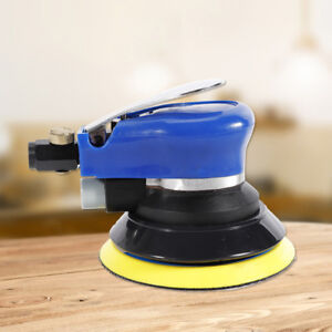 5inch Air Palm Orbital Sander Random Hand Sanding Pneumatic Round Tool Kit Top