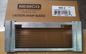 Nemco Tomato Slicer Blade Assembly 566 2 1 4 Cartridge Style For 56600 2
