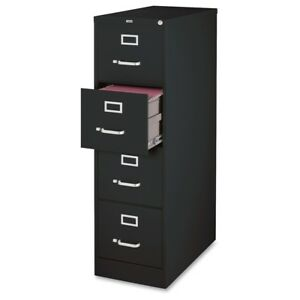 Lorell Vertical File Cabinet 18 X 26 5 X 52 4 X Drawer s For File