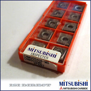 Cnmg 432 Ms Vp10rt Mitsubishi 10 Inserts Factory Pack