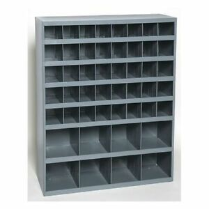 Metal 48 Hole Storage Bolt Bin Cabinet Compartment Nuts Bolts Fasteners Screws