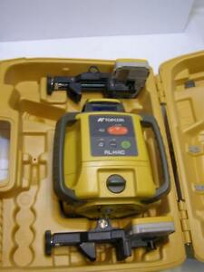 Topcon Rl h4c Self leveling Slope Rotary Laser Level 2 Receivers Ls 80l Ls 80a